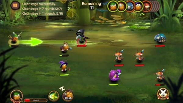 Tales Of Bugs-Slingshot Action Role-playing Game Android Game Image 4