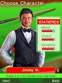 Jimmy Whites: Snooker Legend Java Game Image 2