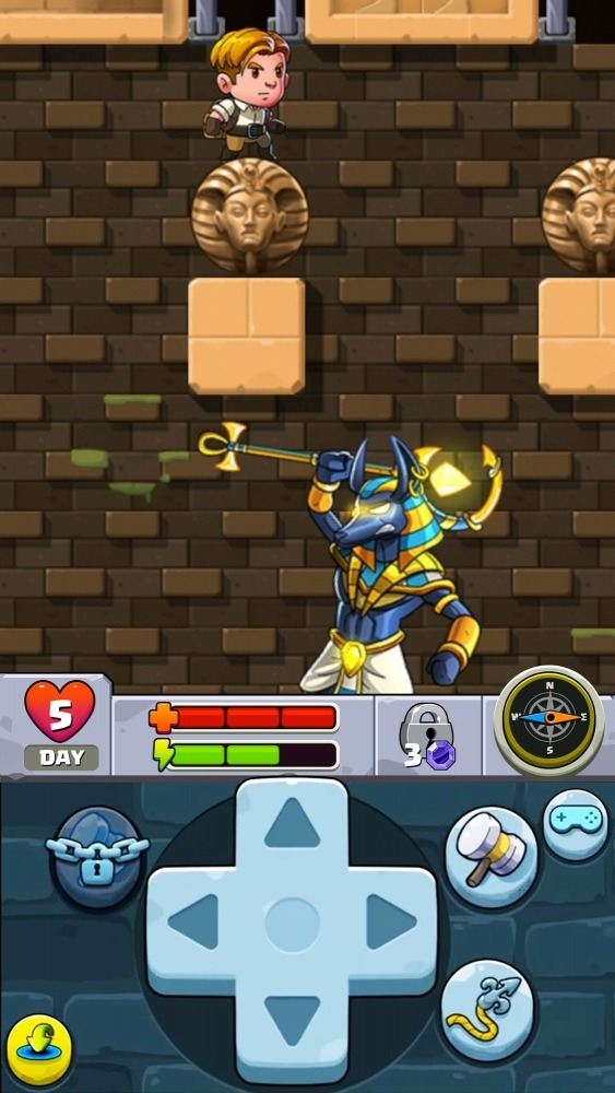 Diamond Quest 2: The Lost Temple Android Game Image 2