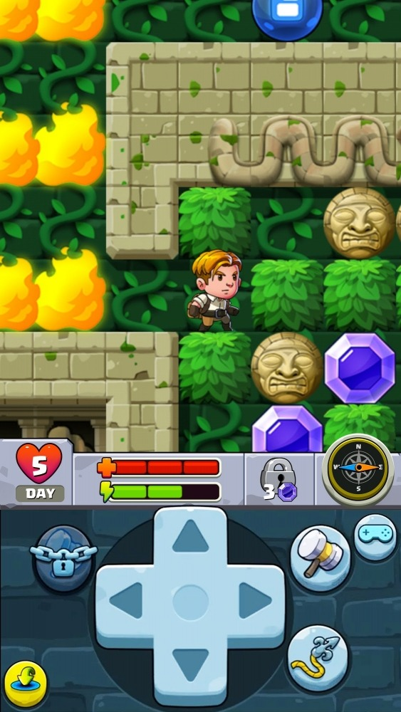 Diamond Quest 2: The Lost Temple Android Game Image 3