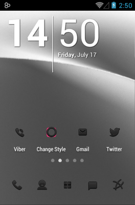 Minoir Icon Pack Android Theme Image 1