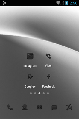 Minoir Icon Pack Android Theme Image 2
