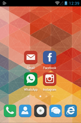 Flat Icon Pack Android Theme Image 1