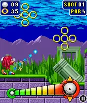 Sonic The Hedgehog: Golf Java Game Image 3