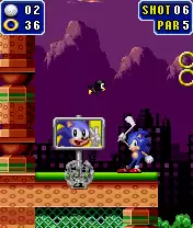 Sonic The Hedgehog: Golf Java Game Image 4
