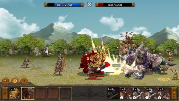 Battle Seven Kingdoms : Kingdom Wars2 Android Game Image 2
