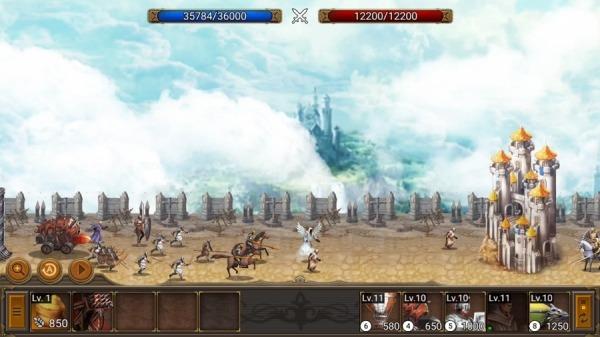 Battle Seven Kingdoms : Kingdom Wars2 Android Game Image 3