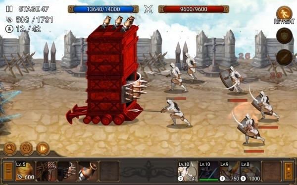 Battle Seven Kingdoms : Kingdom Wars2 Android Game Image 4