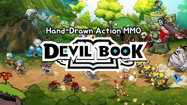Devil Book: Hand-Drawn Action MMO Android Game Image 1