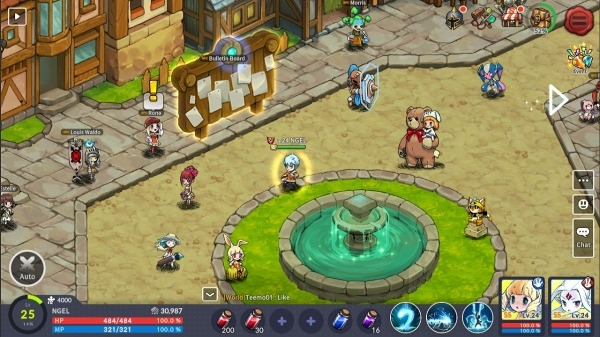 Devil Book: Hand-Drawn Action MMO Android Game Image 2