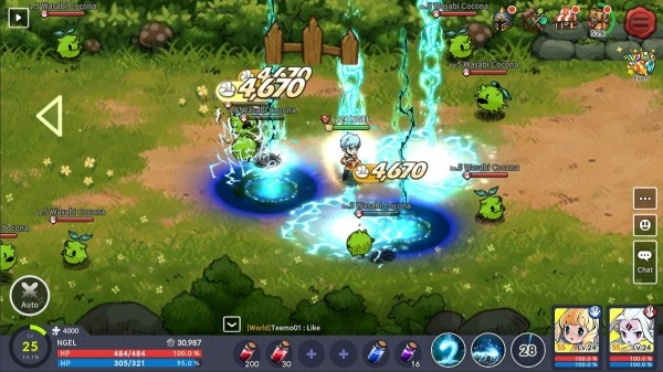 Devil Book: Hand-Drawn Action MMO Android Game Image 3