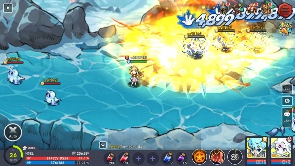 Devil Book: Hand-Drawn Action MMO Android Game Image 4