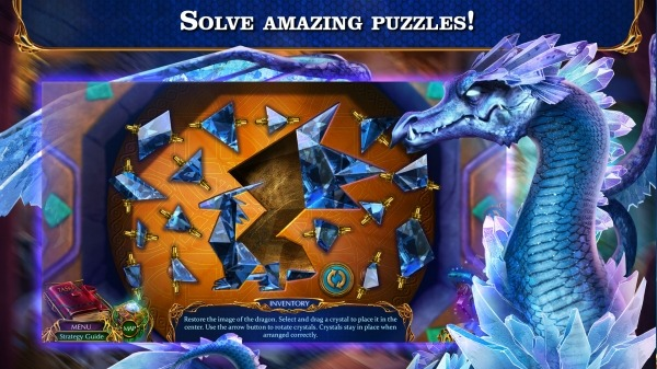 Hidden Objects - Labyrinths Of World: Winter Android Game Image 2