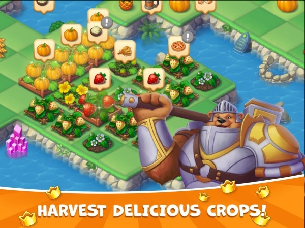 The Mergest Kingdom: Magic Realm Android Game Image 1
