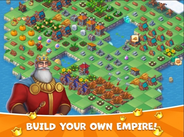 The Mergest Kingdom: Magic Realm Android Game Image 2