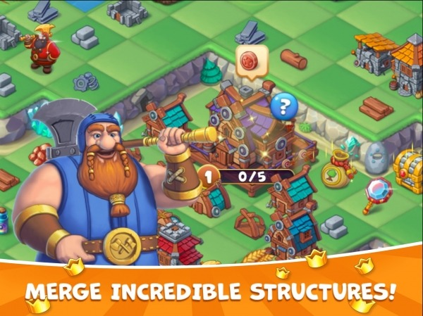 The Mergest Kingdom: Magic Realm Android Game Image 3