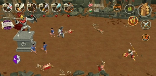 Trojan War Premium: Legend Of Sparta Android Game Image 4