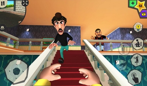 Scary Robber Home Clash Android Game Image 1