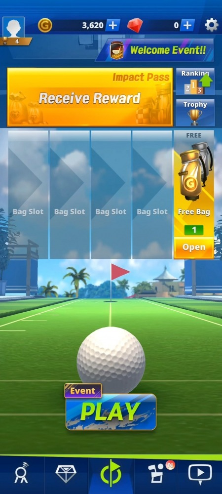 Golf Impact - World Tour Android Game Image 1