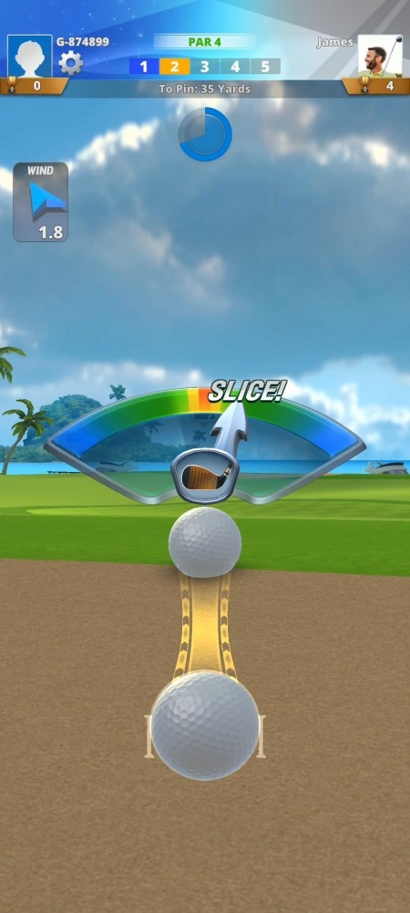 Golf Impact - World Tour Android Game Image 3