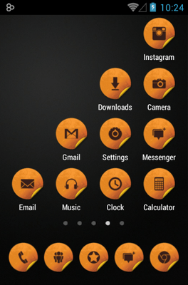 ROYAL Icon Pack Android Theme Image 3
