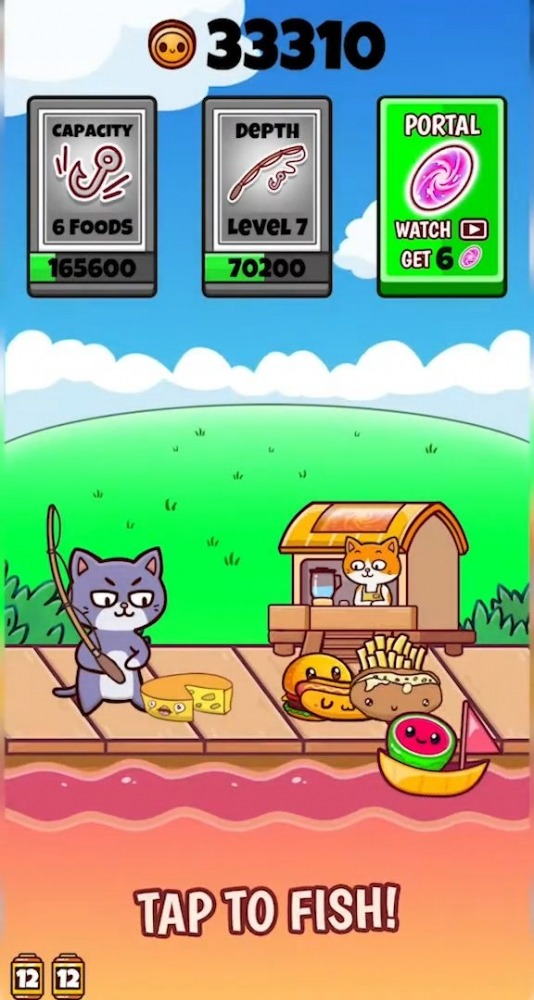 Fishing Food Android Game Image 1