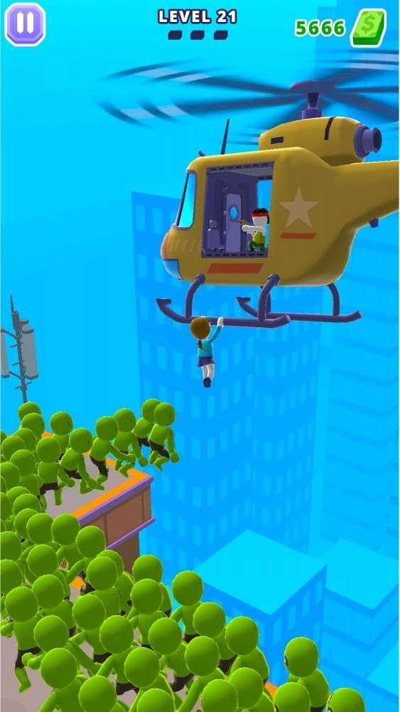 Helicopter Escape 3D Android Game Image 4