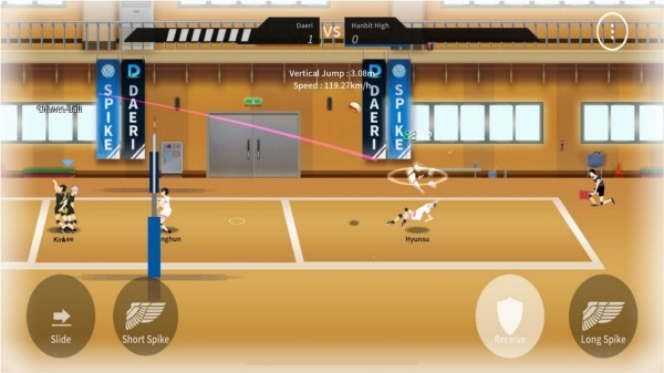 The Spike - Volleyball Story Android Game Image 4