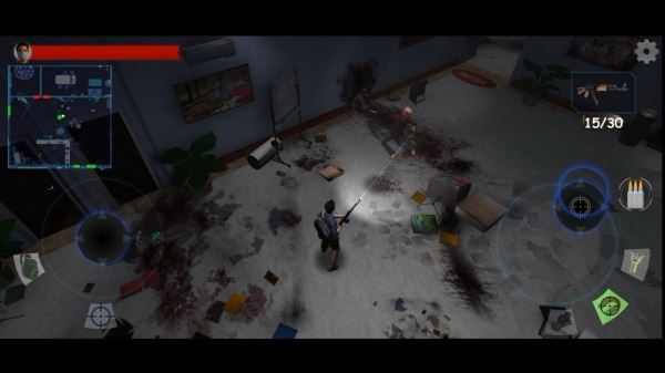 Zombie Game: Disease Of Hazard Android Game Image 2