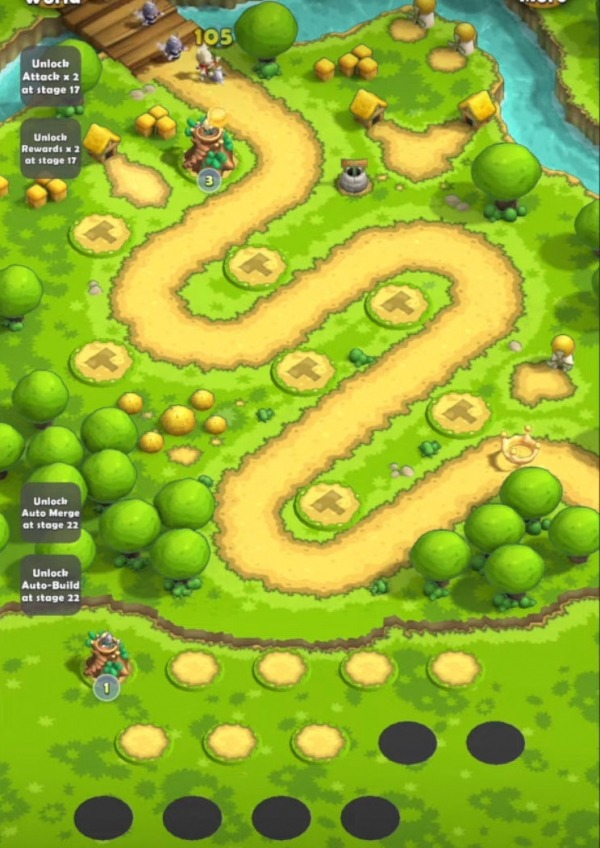 Mini War: Pocket Defense Android Game Image 1