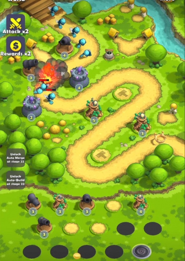 Mini War: Pocket Defense Android Game Image 2