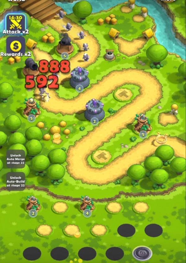 Mini War: Pocket Defense Android Game Image 3