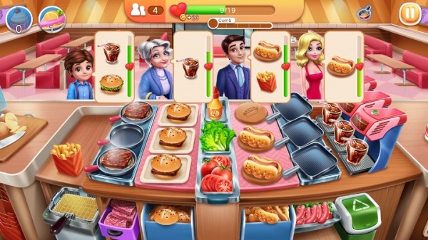 My Cooking - Restaurant Food Cooking Games Android Game Image 1