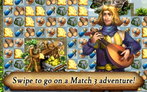 Runefall - Fantasy Match 3 Adventure Quest Android Game Image 2