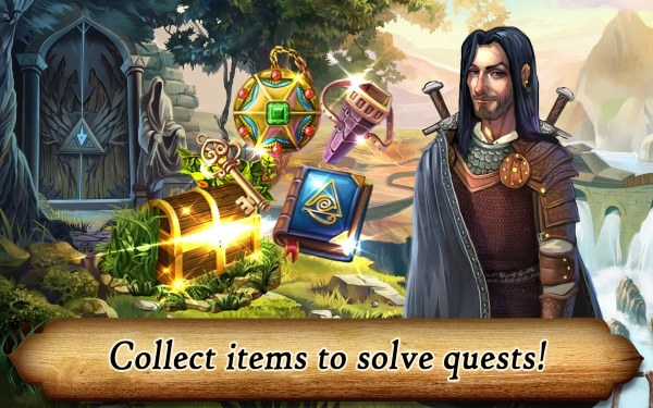 Runefall - Fantasy Match 3 Adventure Quest Android Game Image 3
