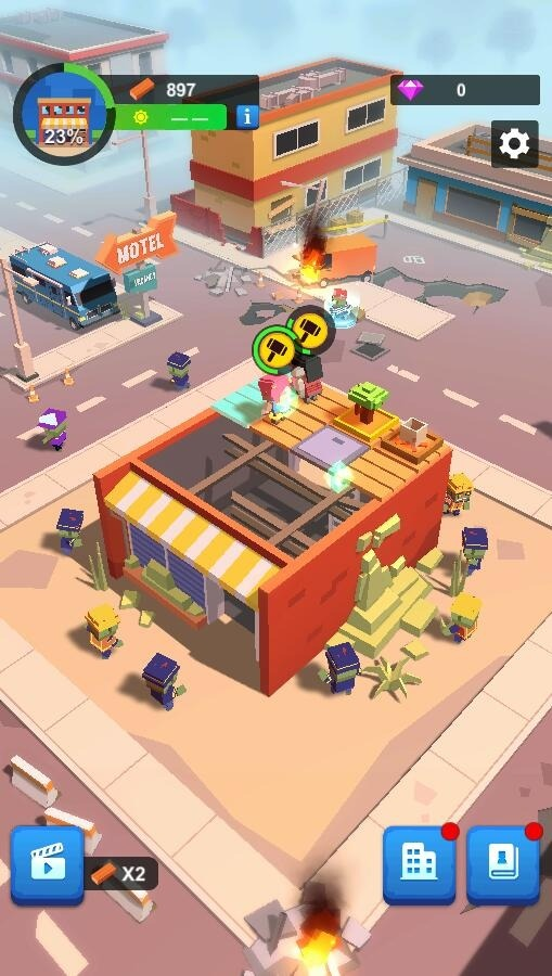 Idle Zombie Shelter Android Game Image 1