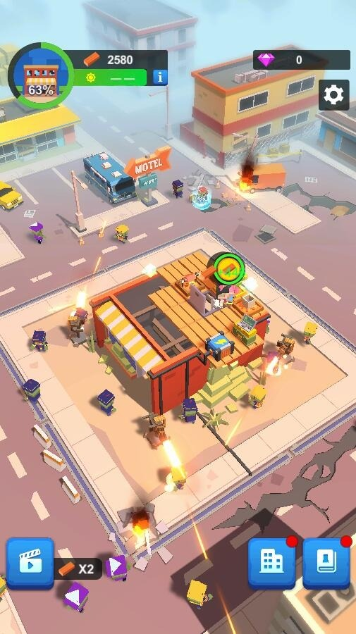 Idle Zombie Shelter Android Game Image 3