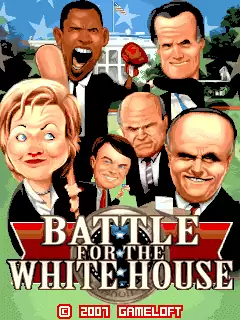 Battle For The White House Java Game Image 1