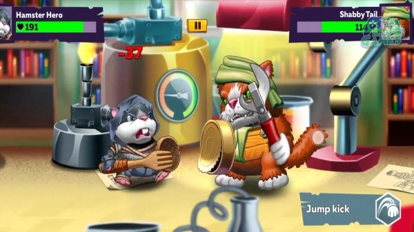 Hamsters: PVP Fight For Freedom Android Game Image 1