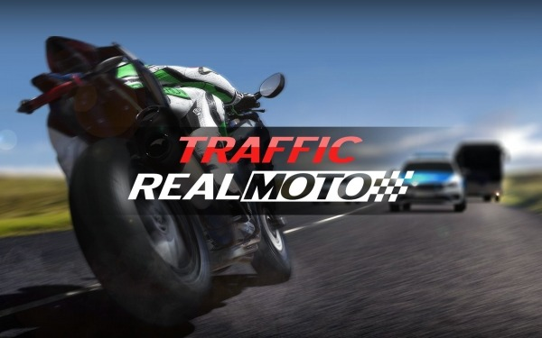 Real Moto Traffic Android Game Image 1
