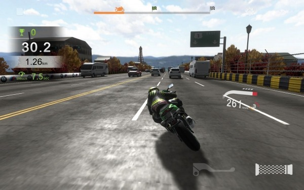 Real Moto Traffic Android Game Image 2