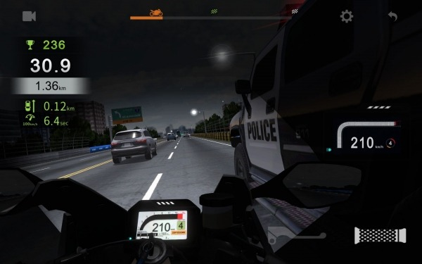 Real Moto Traffic Android Game Image 3
