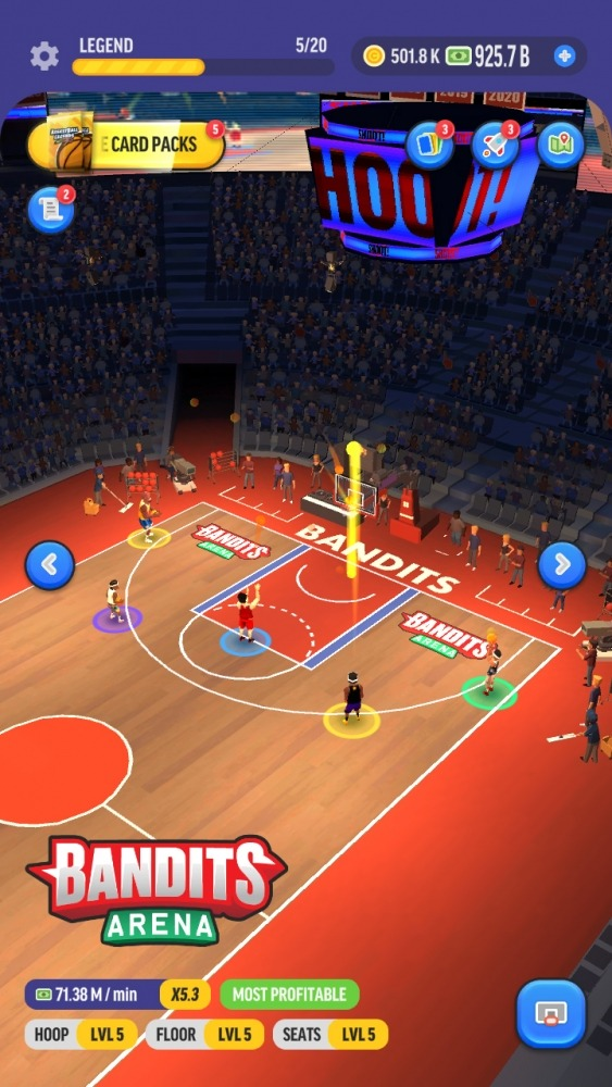 Basketball Legends Tycoon - Idle Sports Manager Android Game Image 1