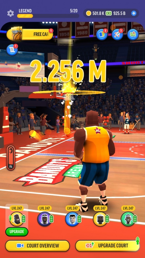 Basketball Legends Tycoon - Idle Sports Manager Android Game Image 2