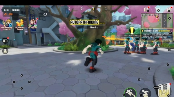 My Hero Academia: The Strongest Hero Android Game Image 3