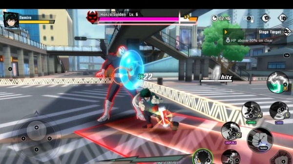 My Hero Academia: The Strongest Hero Android Game Image 4