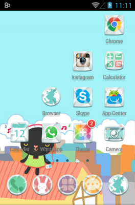 Balloonfree Icon Pack Android Theme Image 3