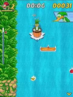 Woody Woodpecker: In Waterfools Java Game Image 2