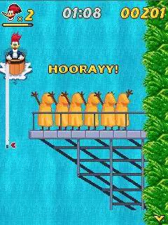 Woody Woodpecker: In Waterfools Java Game Image 3