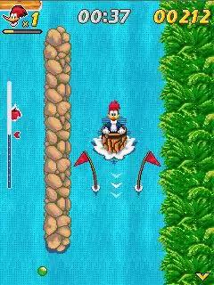 Woody Woodpecker: In Waterfools Java Game Image 4